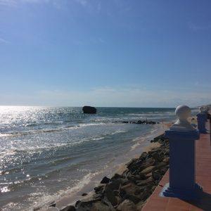 Paseito y playa en Matalascañas
